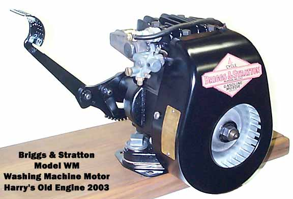 Briggs and Stratton WM front view