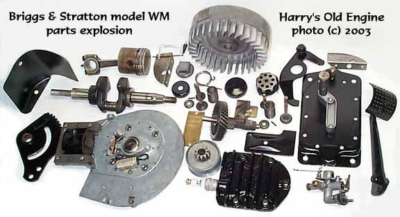 Briggs Stratton Washing Machine Gasoline Engine