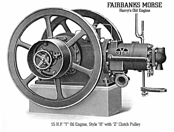 Fairbanks Morse 'Y' Style 'H' Horizontal Oil Engine