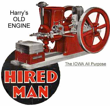 Hired Man Gasoline Engine