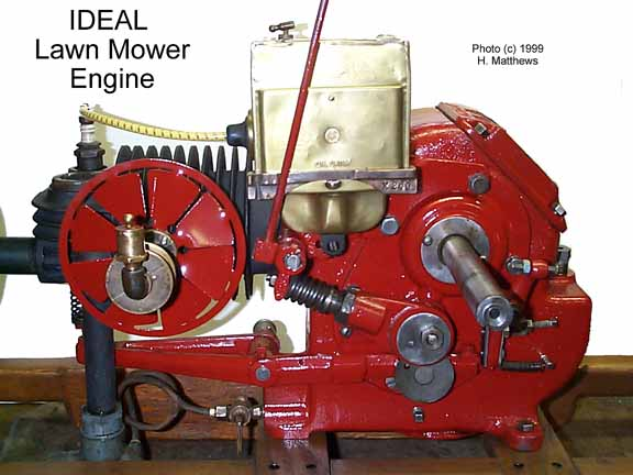 Lawn Mower Cylinder Block : Ideal lawn mower hit and miss engine