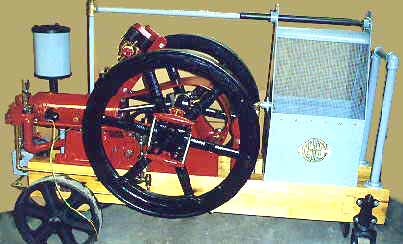 IHC Famous 4HP Antique Gas Engine