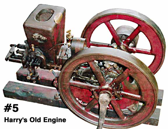 Iowa Oversize Gasoline Engine