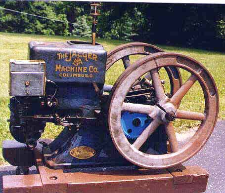 (Jaeger Cement Mixer Engine)
