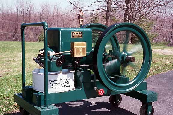 Witte 5HP Kerosene Engine - Springtime at Oswego NY