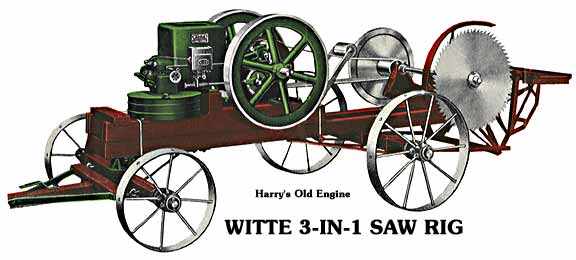 Witte 5HP Saw Rig