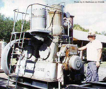 (Fairbanks Morse 150 HP 2cyl Diesel engine)