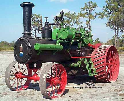 (Case Traction Engine)