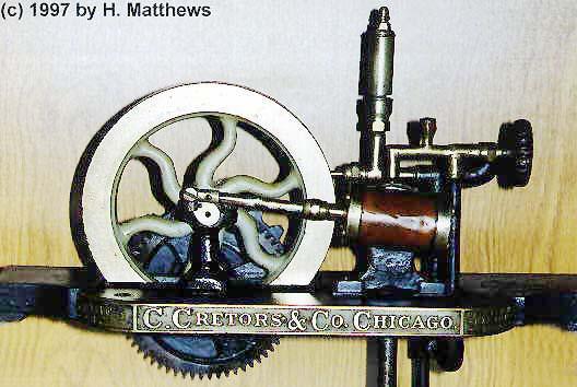 steam powered popcorn machine